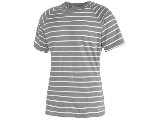 Mammut Crag T-Shirt Uomo, stone grey melange-light grey melange